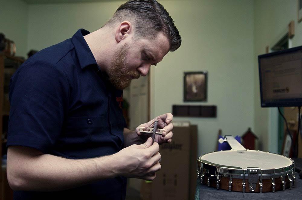 Deering Banjo Service Center Repair Person