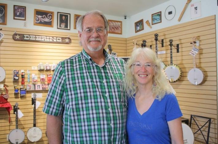 Greg Deering and Janet Deering