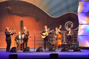 Steep Canyon rangers Performing at the IBMA Awards Show