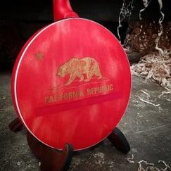Back of Mumford & Sons California Banjo