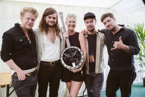 Great Britain Banjo With Mumford & Sons