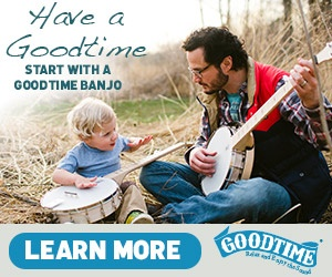 Start With A Goodtime Banjo
