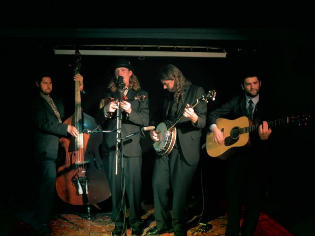 The Henhouse Prowlers featuring Ben Wright and his Deering Terry Baucom Banjo