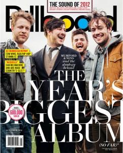 Billboard Magazine Cover - Mumford & Sons