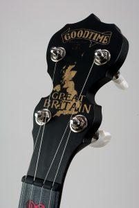 Gret Britain Banjo Peghead