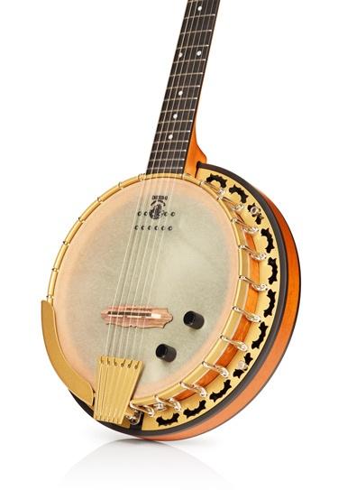 Deering Phoenix Acoustic/Electric 6-String Banjo