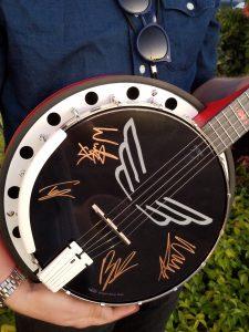 NAMM Signed Charity Banjo