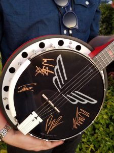 NAMM Signed Charity Banjo