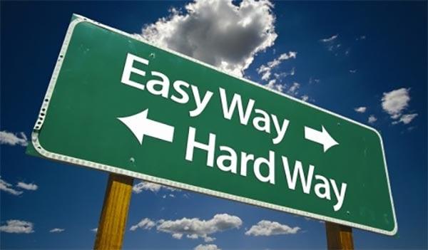 easy-way-hard-way