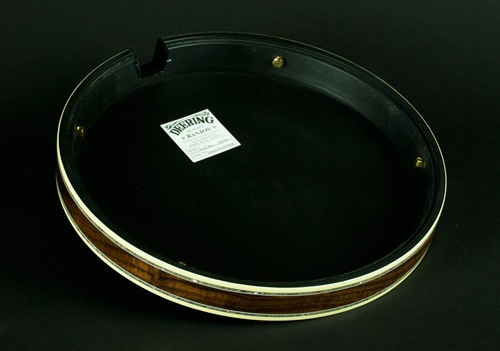 Deering Banjo Resonator - inside