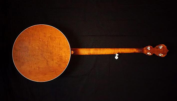 Deering Sierra Banjo with Linseed Oil Finish