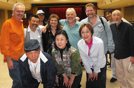 Terry Baucom in Japan
