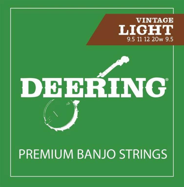 Deering Light Gauge Banjo Strings