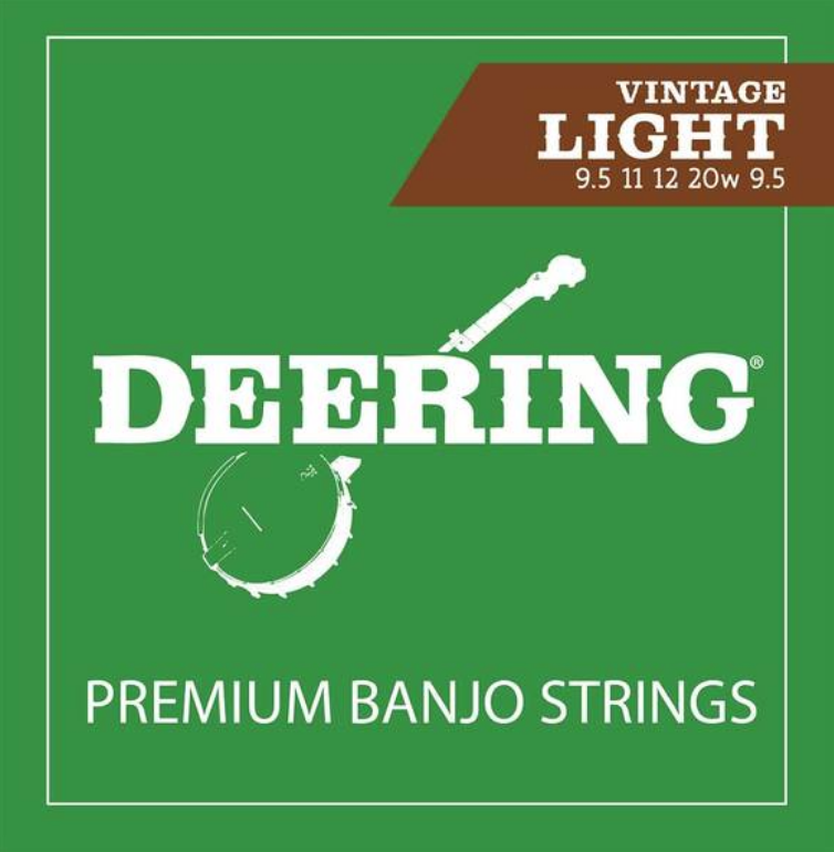 Deering Light Gauge Banjo Strings