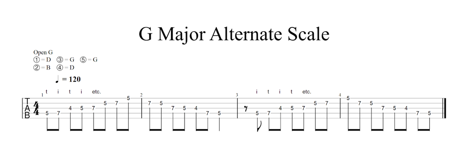 g-major-melodic-style-scale