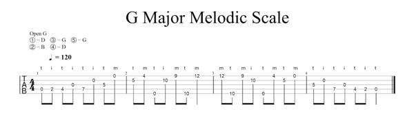 g-major-scale-5-string