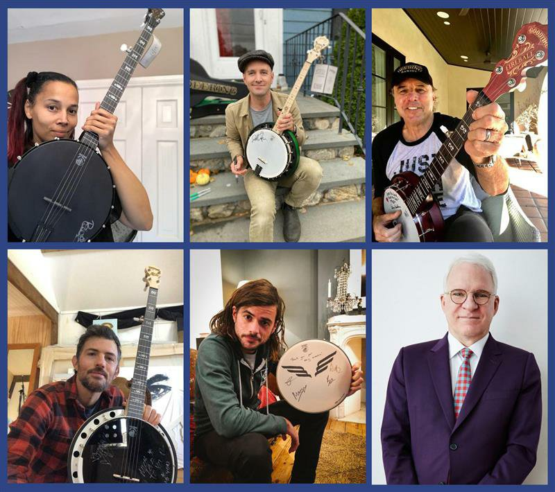 Giving Tuesday Charity Banjo Artists 2020